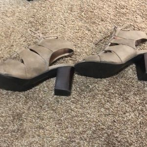 Restricted Shoes - Restricted lace up booties